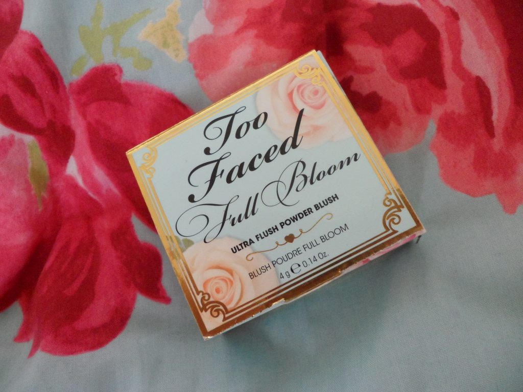 too faced full bloom
