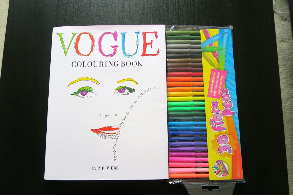 the vogue colouring book