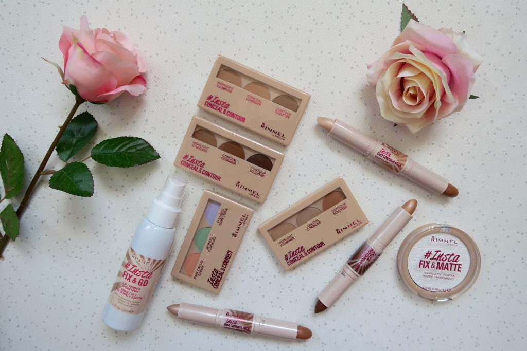 Rimmel London Insta makeup range