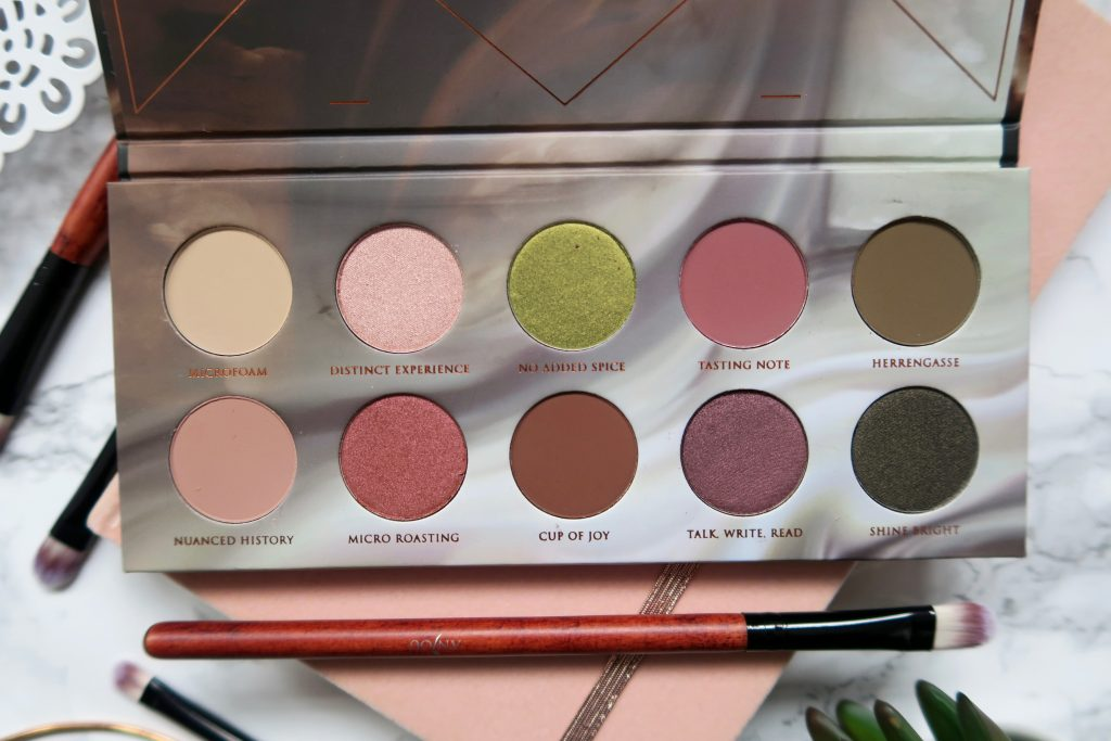 Zoeva Cafe Eyeshadow Palette