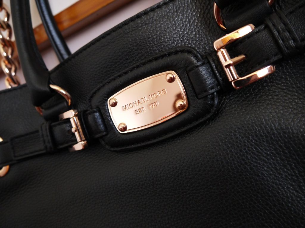 Michael Kors Hamilton Black and Rose Gold A Beautiful Ride