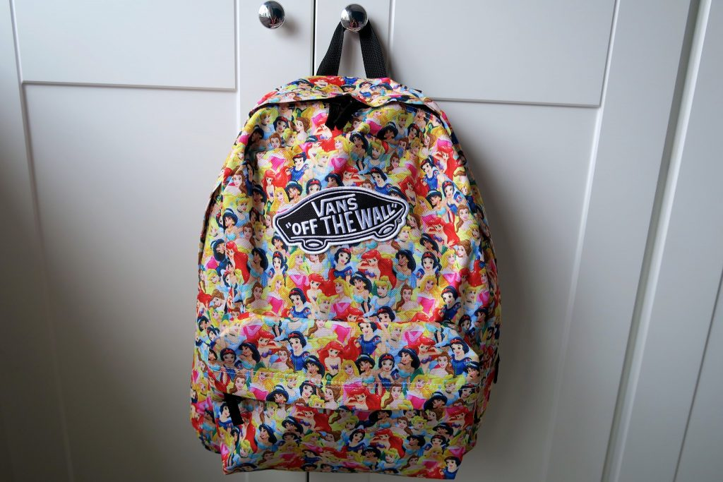 disney x vans backpack