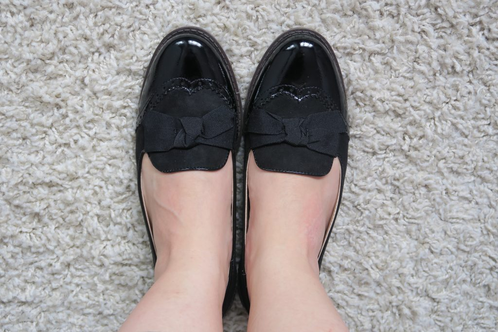 bow brogues