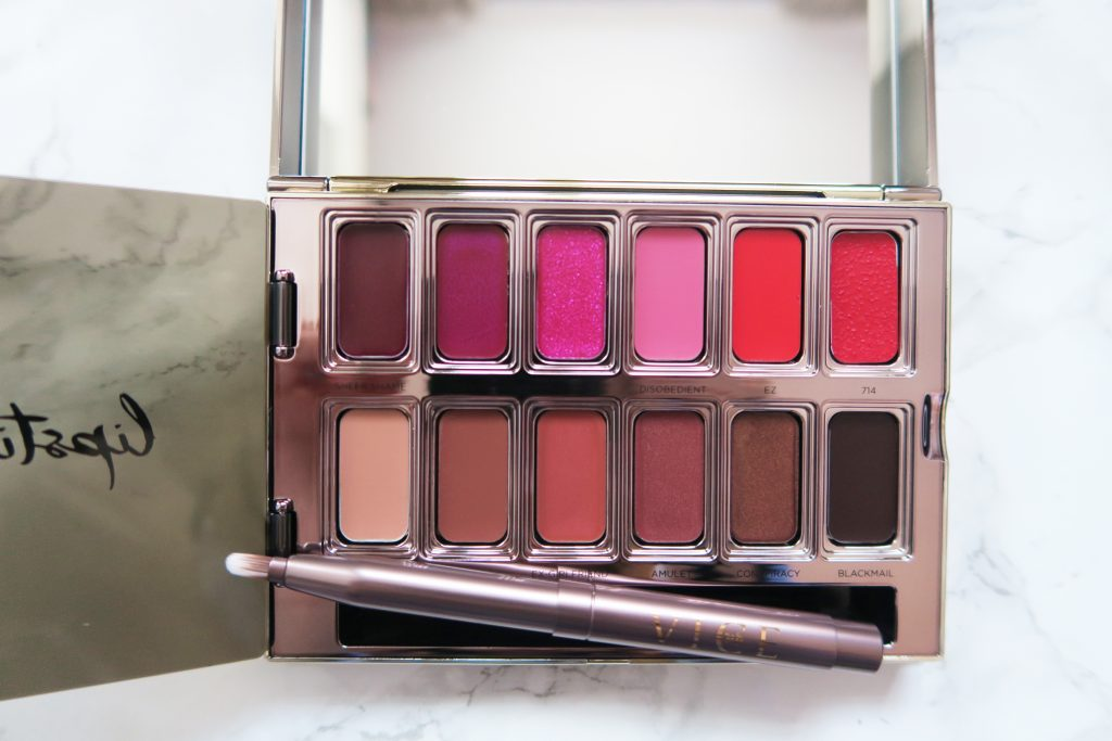 urban decay blackmail vice lipstick palette