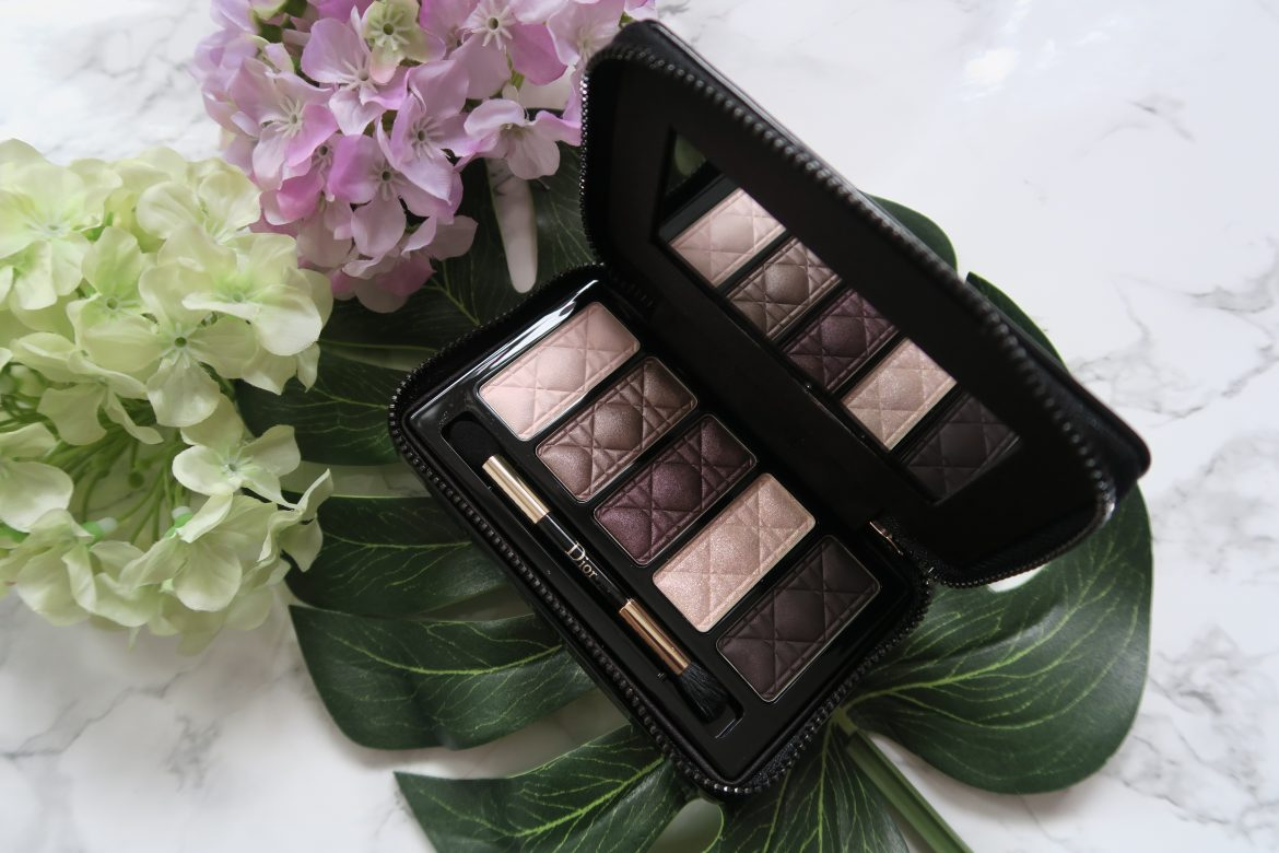 dior holiday couture eyeshadow palettes review a