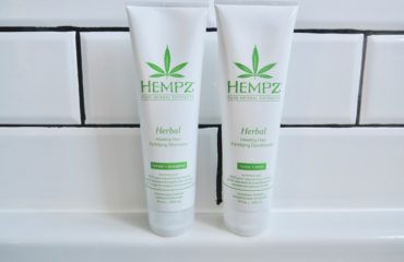 Shampoo & Conditioner Made From Hemp Seed Oil