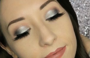 Sparkly Silver Eyeshadow Tutorial